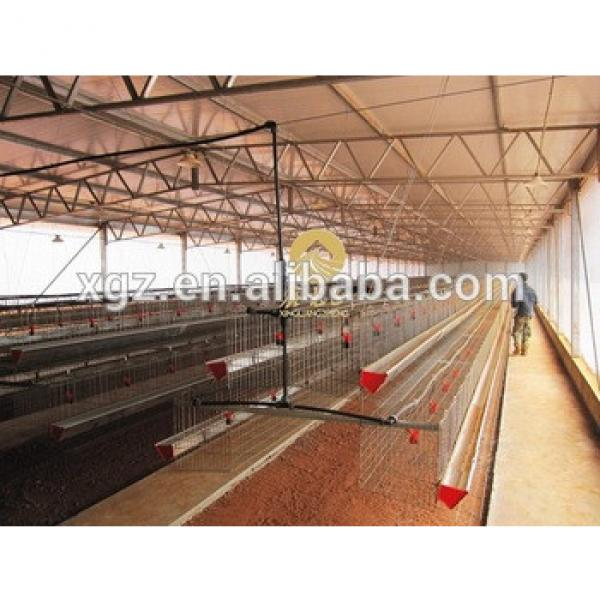 cheap poultry farm shed for laying hens in angola #1 image