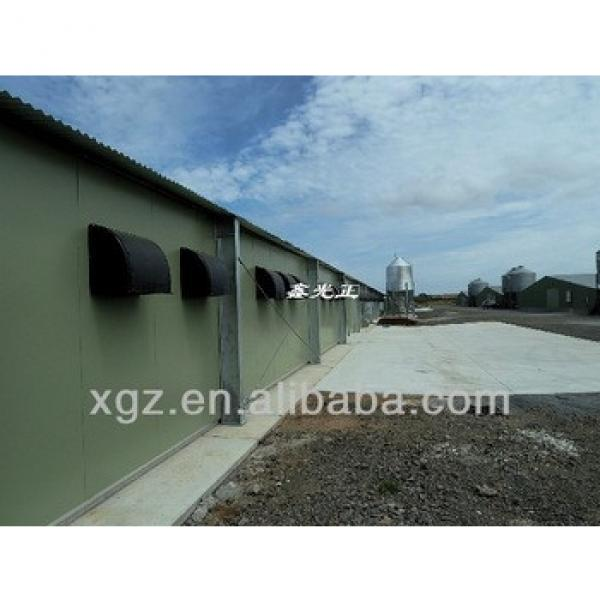 low cost poultry pen for broiler with automatic equipment #1 image