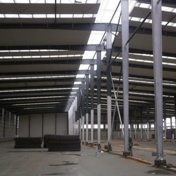 Durable Fast Construction Steel Structure Prefab Workshop Building #1 image