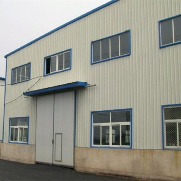 Low Cost Prefabricated Construction Steel Structure Warehouse Building #1 image
