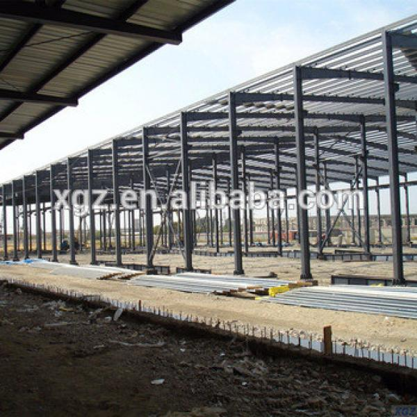 Low Cost Pre-fabricated Steel Structure Workshop In Sudan #1 image
