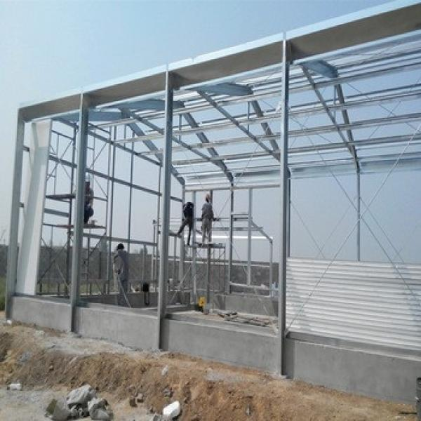 Light Steel Prefabricate Poultry Application Poultry Slaughter House #1 image