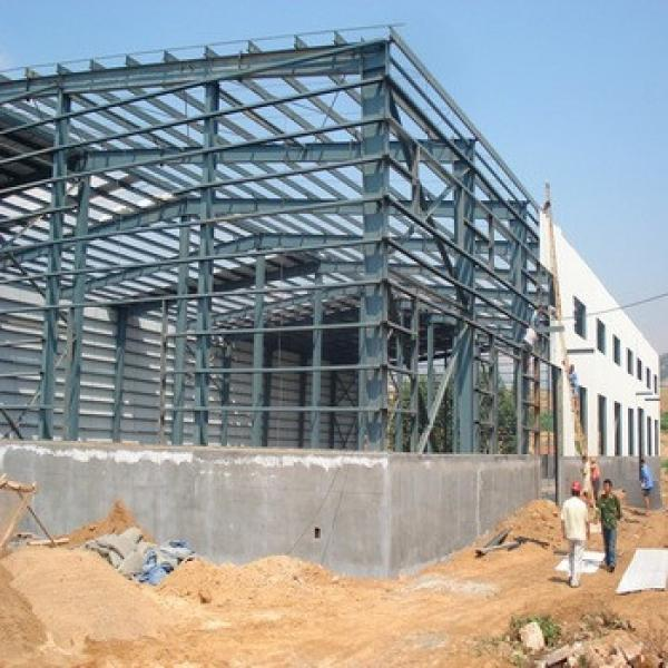 Low Cost Industrial Shed Prefab Steel Warehouse #1 image