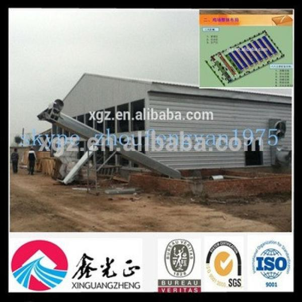cheap prefabricated farm layer and broiler poultry barns #1 image