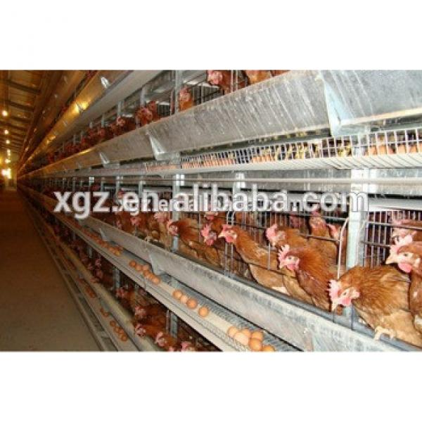 low cost steel structure modern design layer chicken cages for kenya poultry farm #1 image