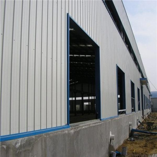 Economic Fast Construction Prefabricated Light Steel Warehouse #1 image