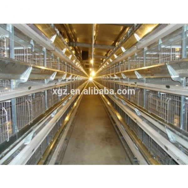 cheap steel poultry house automatic chicken layer cage for sale in philippines #1 image