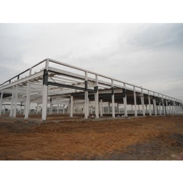 Hotel,House,Office,Warehouse,Guard House,Villa Use And Steel Material Steel Structure Building #1 image