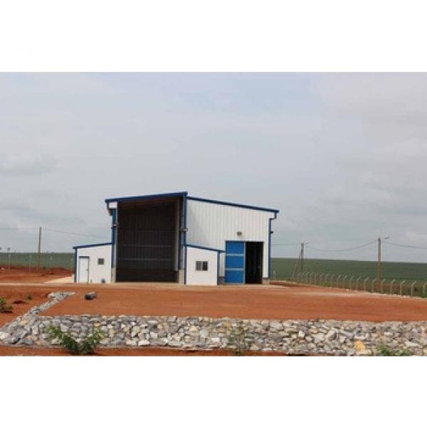 steel structure feed mill with high quality cheap price #1 image