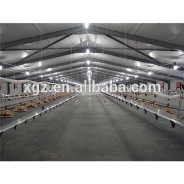 Professional Design Commercial Prefabricated Poultry Chicken House #1 image