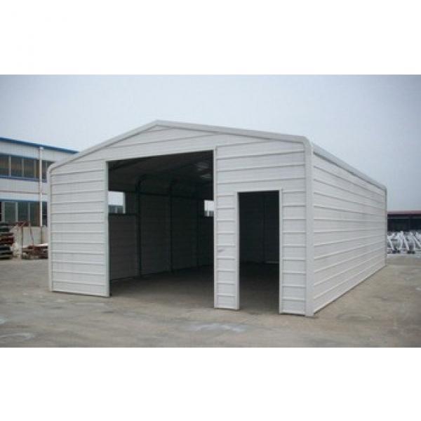 prefabricated steel car garage #1 image