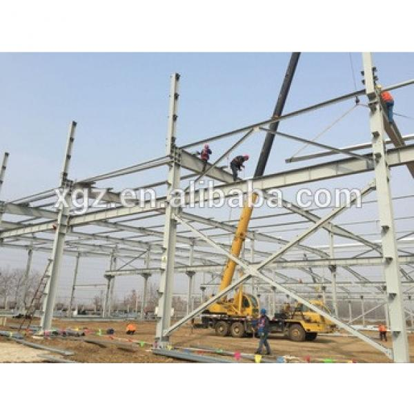 Luxury steel structure warehouse/prefabricated house #1 image