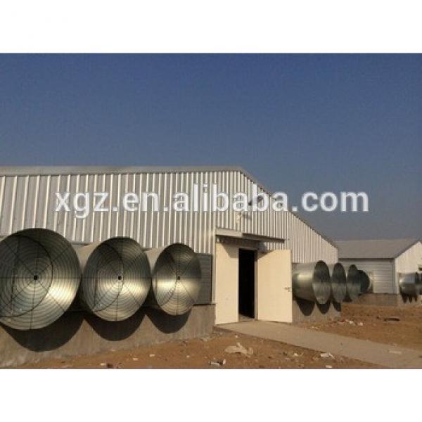 Modern design prefabricated chicken house sale in Qatar #1 image