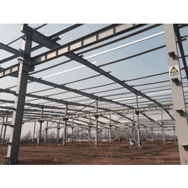 Hight quality of steel structure workshop/prefabricated house #1 image