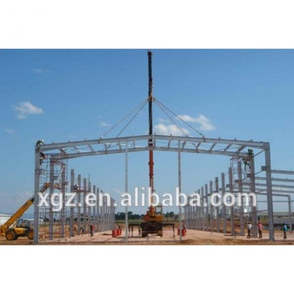 Quick construction and low coststeel structure workshop/warehouse #1 image