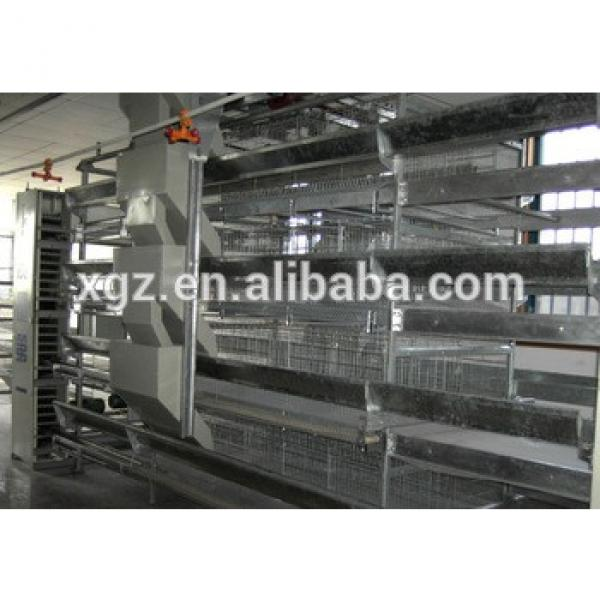 Multi-tier H type advanced prefab chicken houses for chicken farm made in China #1 image