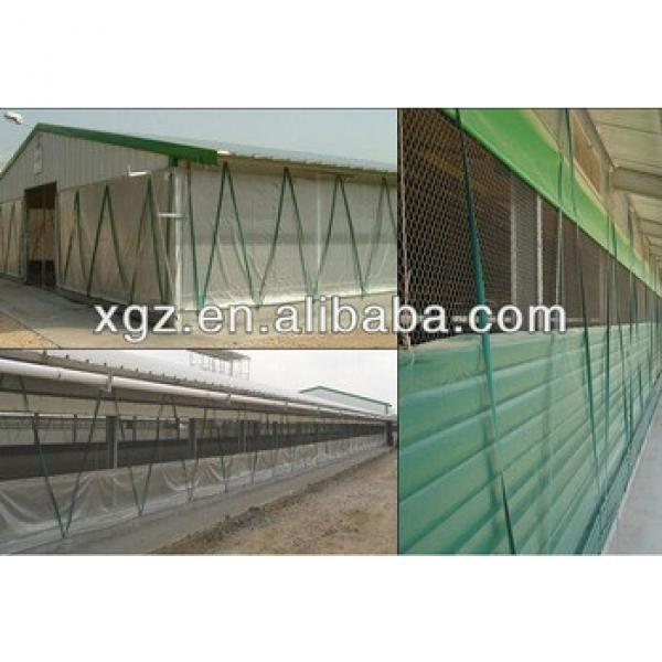 Q235 or Q345 construction design poultry farm commercial chicken house #1 image