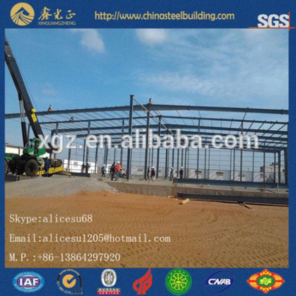 Modular Low cost Quick Install service steel garage warehouse #1 image