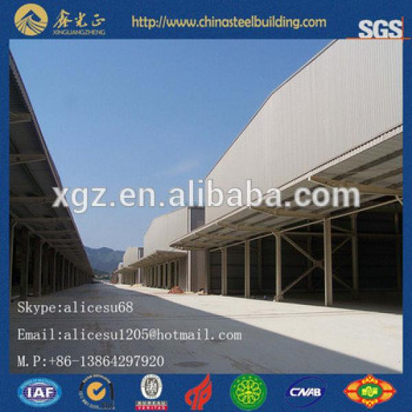 Shelter shed structural corrugated metal roof panels pre engineering warehouse #1 image