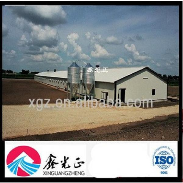 Prefabricated Poultry Structure Construction Barn #1 image