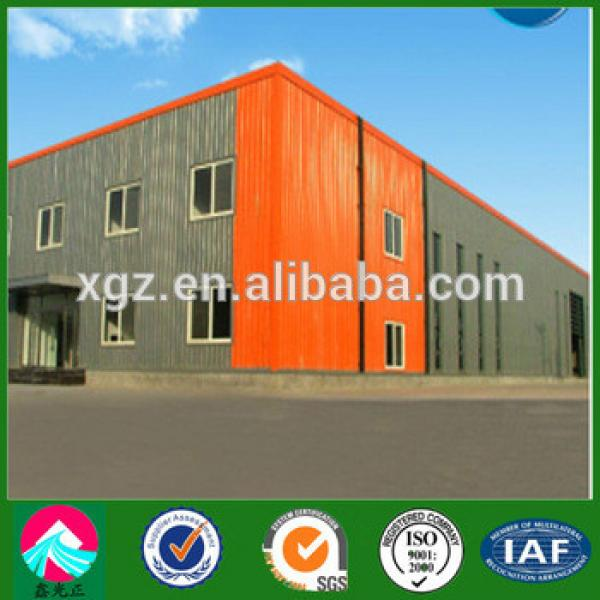 Metal frame structure cold storage warehouse construction #1 image