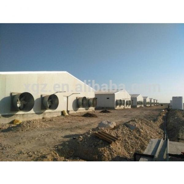 china best price high quality prefabricated broiler poultry farm house design #1 image