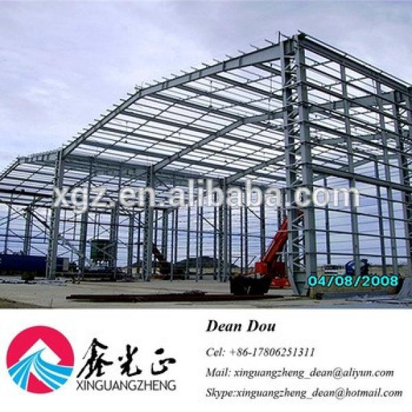 Prefabricated Steel Structure Workshop Building Construction Projects House Kit #1 image