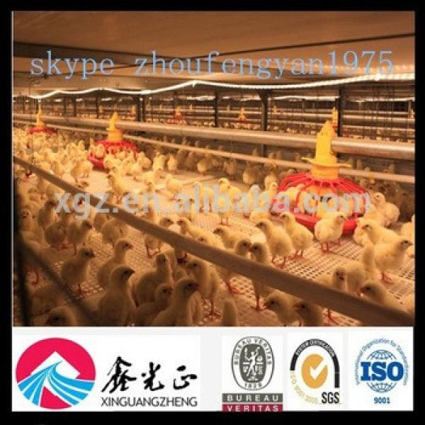 china cheap automatic equipment broiler poultry farm house design #1 image