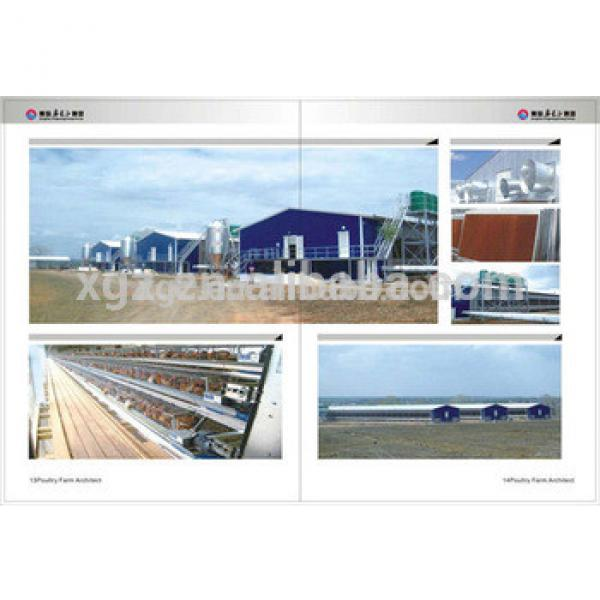 china cheap automatic equipment design prefab poultry house #1 image