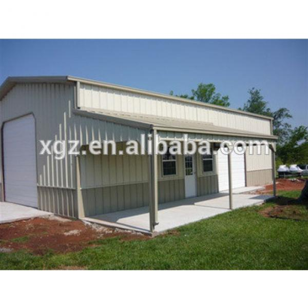 Steel Structure Office Garage Tiny House #1 image