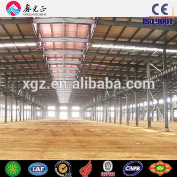 Prefab steel structural warehouse logistic storage shed design #1 image