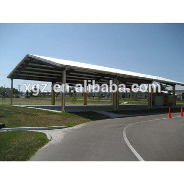 Prefabricated Steel Structure Carport Shed #1 image