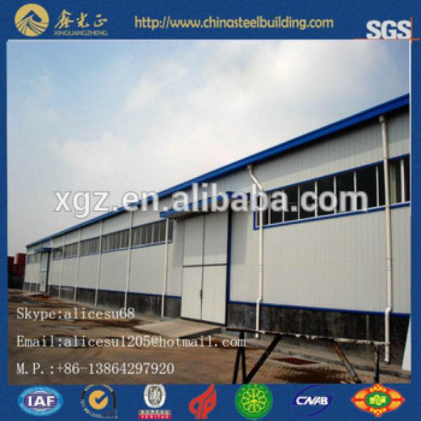 low cost modern steel space truss frame building for sale #1 image