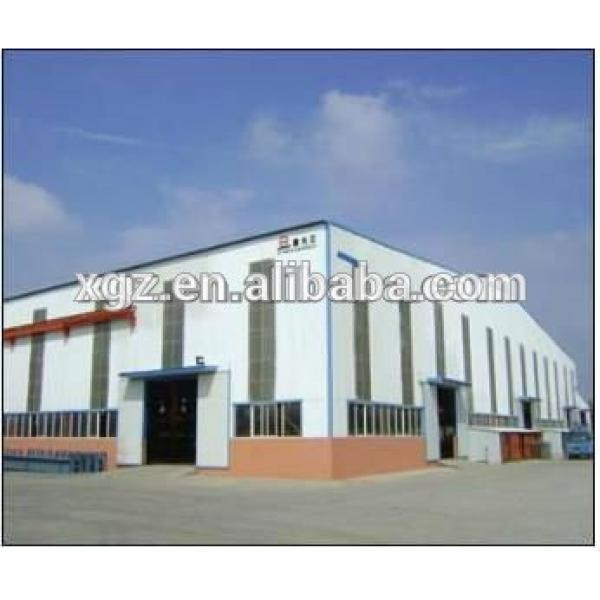 Construction Steel Structure Workshop Plan #1 image