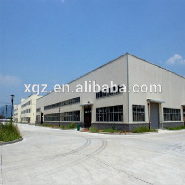 Turnkey Prefabricated Steel Structure Workshop Building #1 image
