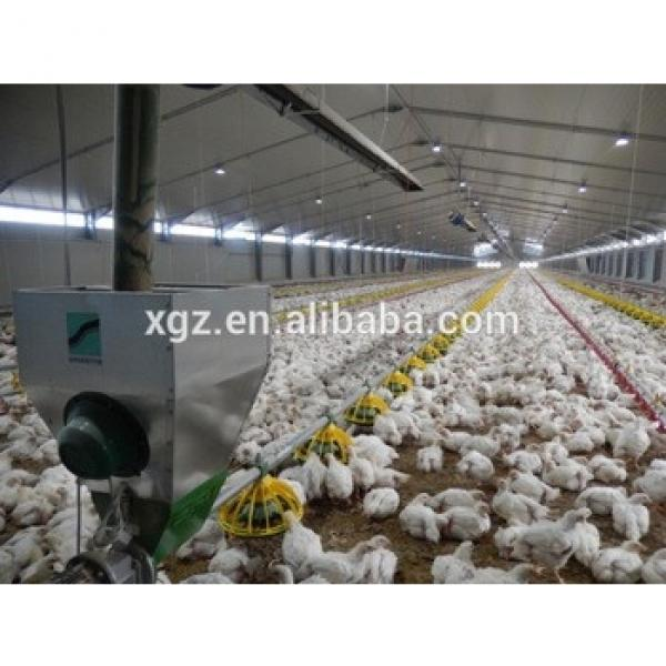 Prefabricated steel shed industrial chicken house #1 image