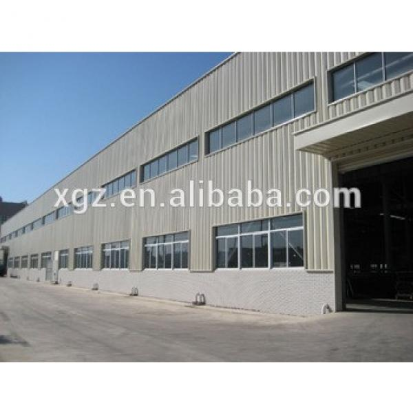 Prefabricated Steel Structure Warehouse For Export #1 image