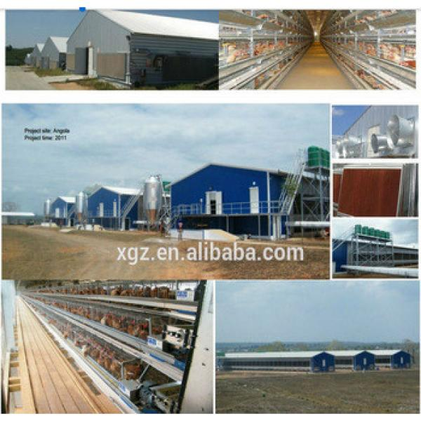 china layer and brolier Steel chicken cage poultry farming equipment #1 image