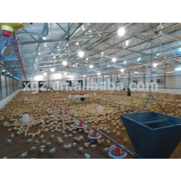 high quality design Steel Structure poultry shed construction #1 image