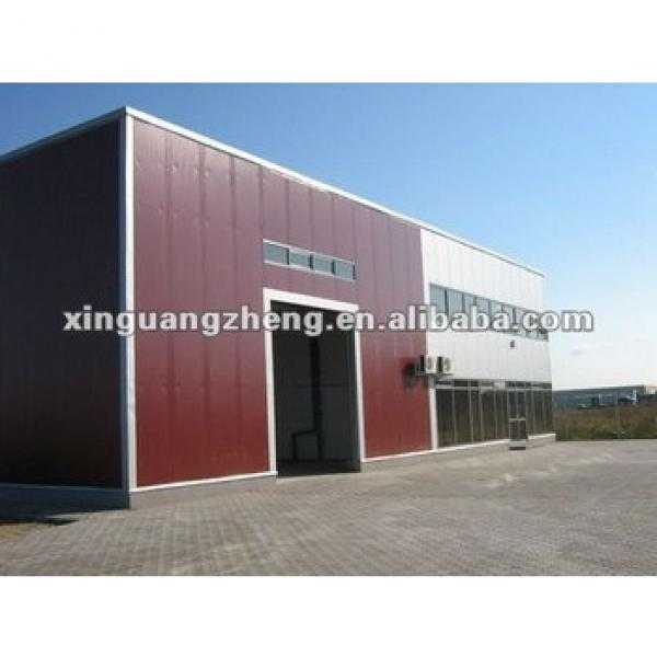 the steel structure warehouse #1 image