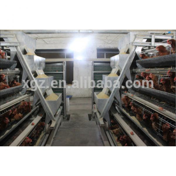 automatic equipment poultry house design for layers in kenya farm #1 image