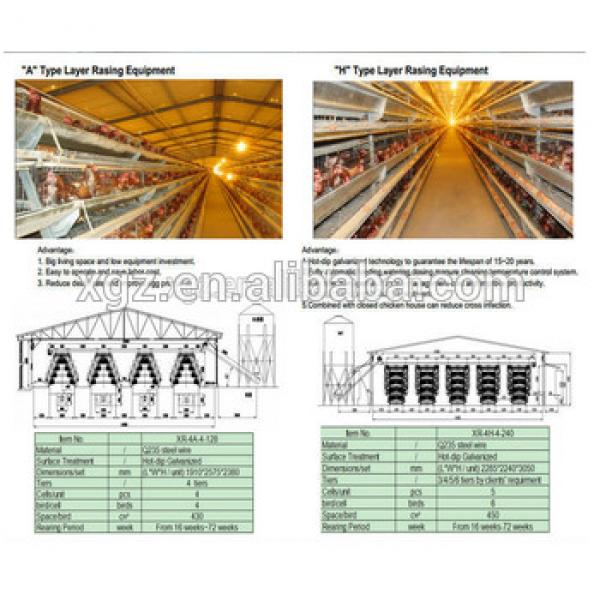 chicken layer cage egg chicken house design for layers #1 image