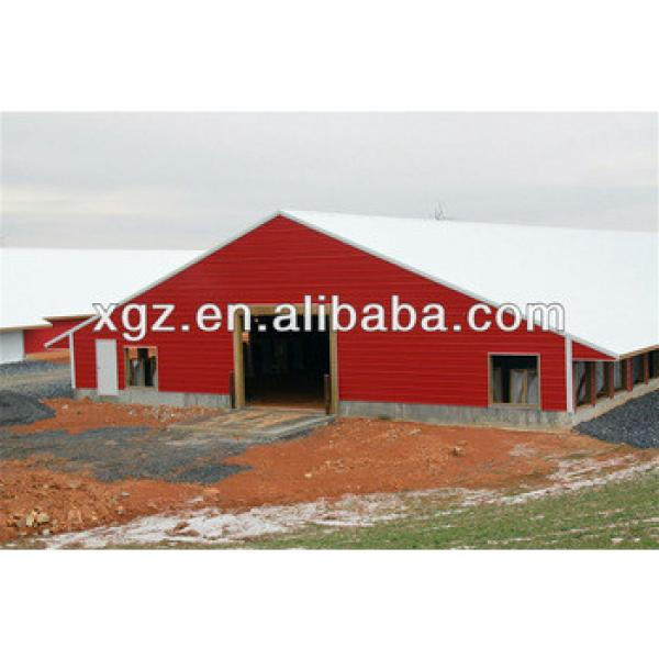 Prefabricated environmental controlled poultry house #1 image