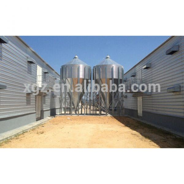 china deaign auto equipment Chicken Broiler Farm Building #1 image