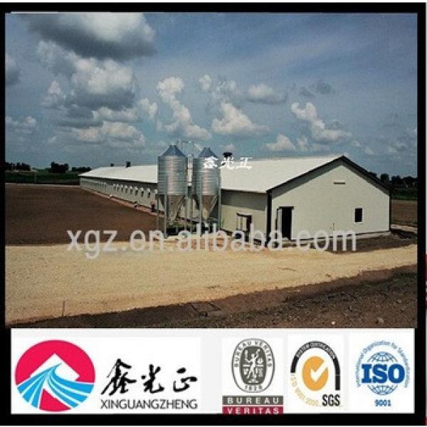 Design Chicken Farm Steel Structure Farm Shed #1 image