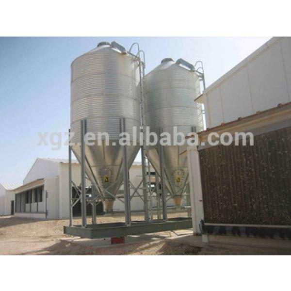 china high quality broiler shed prefabricated poultry farm design #1 image