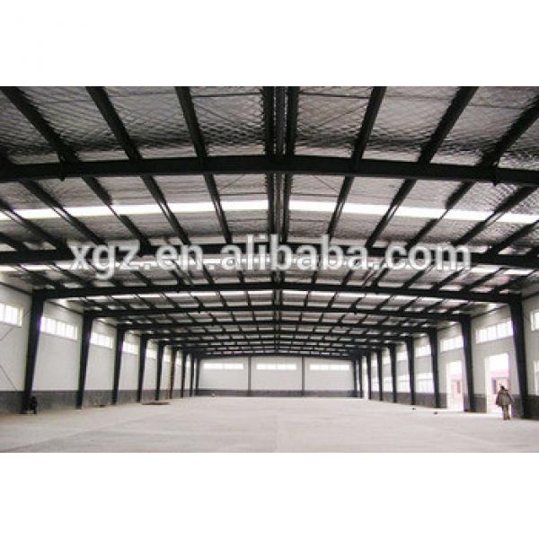 Custom-made Prefabricated Steel Structure Workshop Building #1 image