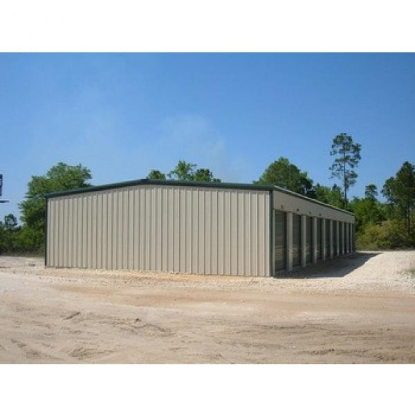 cheap economy steel structure prefab house metal building #1 image