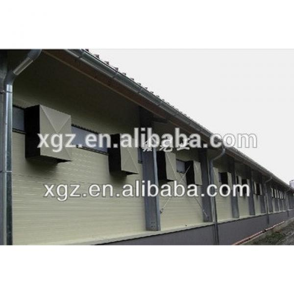cheap automatic system modern design drawing chicken coop for layer poultry farm #1 image