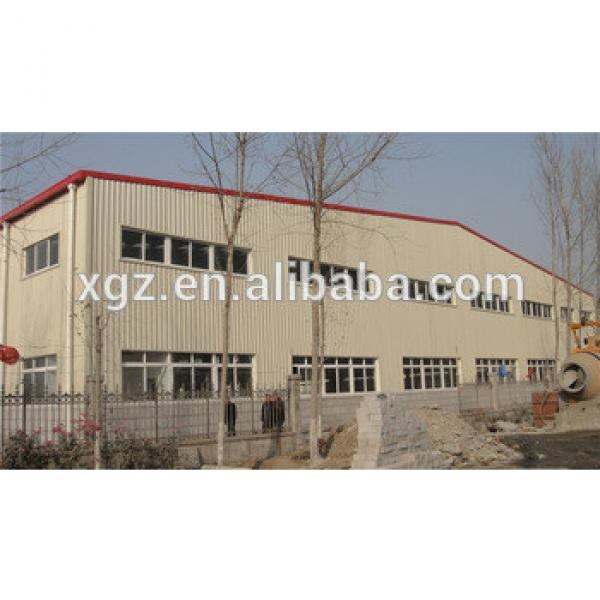 Large Span Steel Structure Workshop Building Manufacturer #1 image